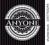 anyone silvery emblem. vector... | Shutterstock .eps vector #1557703295