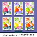 abstract splash food label... | Shutterstock .eps vector #1557771725