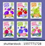 abstract splash food label.... | Shutterstock .eps vector #1557771728