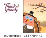 thanksgiving template or copy... | Shutterstock .eps vector #1557784442