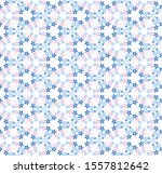 seamless pattern with flower.... | Shutterstock .eps vector #1557812642