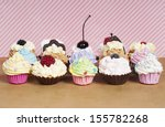 Loads Of Rainbow Cupcakes With...