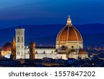 Night View Of Florence Duomo....