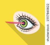 vector illustration of laser...   Shutterstock .eps vector #1557860822