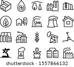 plant vector icon set such as ...
