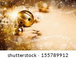 christmas background with a... | Shutterstock . vector #155789912