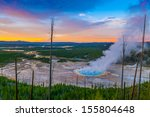 Grand Prismatic Geyser At...