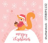 cute squirrel with christmas...