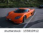 august 2005   sylt  a supercar... | Shutterstock . vector #155810912