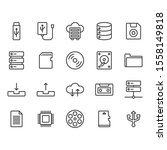 file storage icon and symbol...