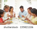 multi generation indian family... | Shutterstock . vector #155821106