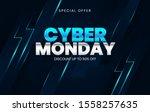 sale banner template design ... | Shutterstock .eps vector #1558257635