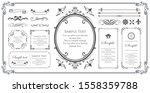 print beautiful decorative...   Shutterstock .eps vector #1558359788