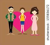 my family | Shutterstock .eps vector #155836172