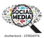 social media | Shutterstock . vector #155836976