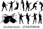 a set of high quality musicians ... | Shutterstock .eps vector #1558398848