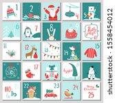 Hand Drawn Advent Calendar For...