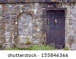 Sinaia  Romania   Door In Old...