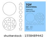 educational toy  vector... | Shutterstock .eps vector #1558489442