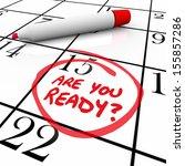 a calendar with the date 15... | Shutterstock . vector #155857286
