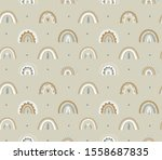 seamless childish pattern with...   Shutterstock .eps vector #1558687835