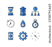 time icon set   hourglass ...