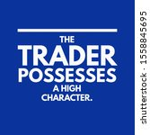 it's about that the trader...   Shutterstock . vector #1558845695