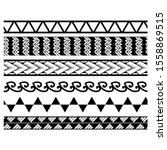seamless pattern borders... | Shutterstock .eps vector #1558869515