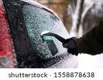 Cleaning The Rear Car Window O...