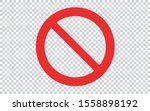 Forbidden Sign   Transparent...