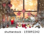 Red Christmas Decoration With...