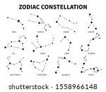 zodiac constellation. aries... | Shutterstock . vector #1558966148