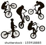 bmx bike vector art graphics