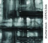 black abstract watercolor macro ... | Shutterstock . vector #155921366