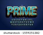 vector of stylized modern font... | Shutterstock .eps vector #1559251382