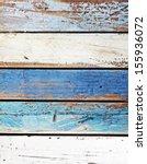 ocean colored wooden panels... | Shutterstock . vector #155936072