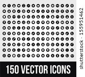 150 universal vector icons for...