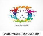 brain  creative mind  learning... | Shutterstock .eps vector #1559564585