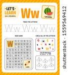 kids learning material.... | Shutterstock .eps vector #1559569412