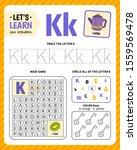 kids learning material.... | Shutterstock .eps vector #1559569478