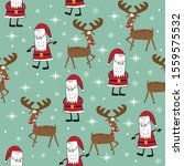 Seamless Pattern For Christmas  ...