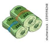 Money Icon. Vector Illustration ...