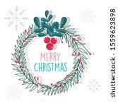 merry christmas celebration... | Shutterstock .eps vector #1559623898