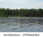 A lake in Chequamegon-Nicolet National Forest, Wisconsin