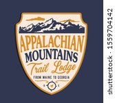 montains trail typography  tee...   Shutterstock .eps vector #1559704142
