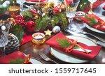 Christmas Holidays Table...