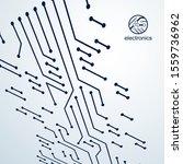 Vector Circuit Board  Digital...