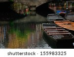 lauch river with boats in... | Shutterstock . vector #155983325