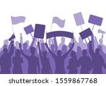 activists protest. political... | Shutterstock .eps vector #1559867768