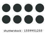 star burst sticker set. black... | Shutterstock .eps vector #1559951255